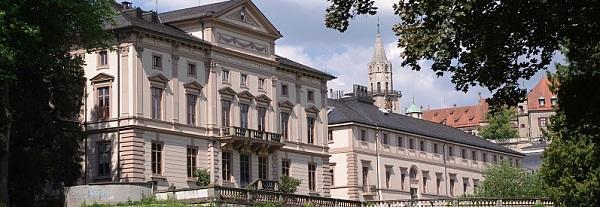 Blick auf das Staatsarchiv Sigmaringen