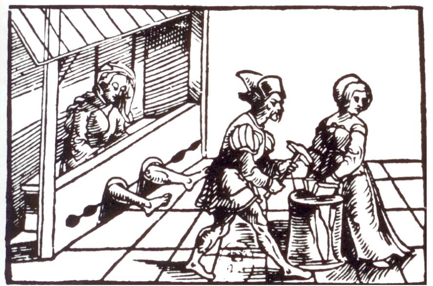 Foltermethoden hexen bilder