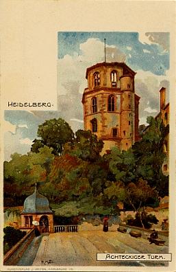Künstler Heidelberg landesarchiv baden württemberg sammlung velten heidelberger schloss