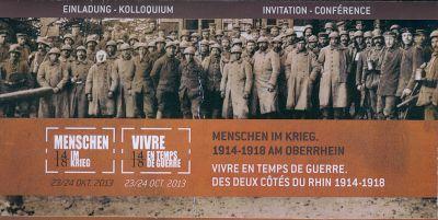 Menschen im Krieg: Kolloquium in Freiburg