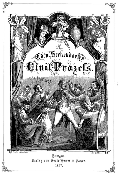 Cover Der Civil Process 1867