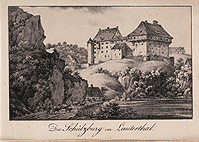 Schülzburg in the Lautertal